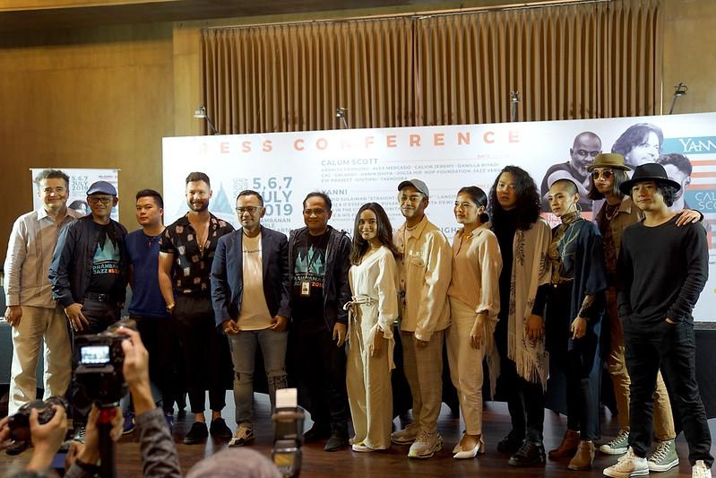 Presscon Prambanan Jazz Festival 2019