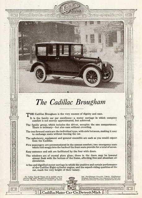 1918 Cadillac Brougham