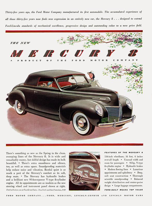 1939 Mercury 8