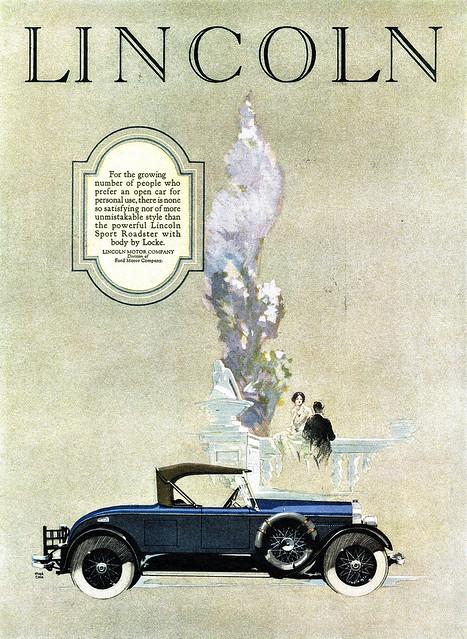 1926 Lincoln Sport Roadster by Locke
