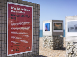 Brighton & Hove Camera Club Seafront Exhibition 2019