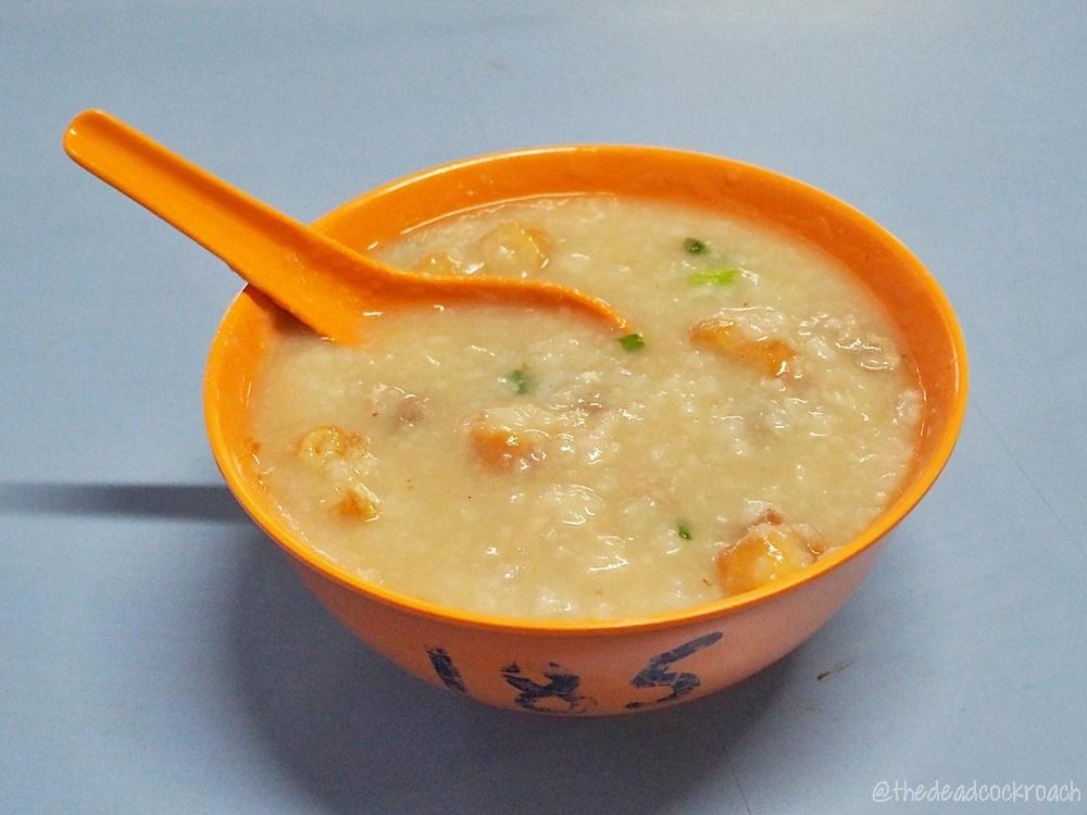 mixed pork porridge, porridge, tian tian porridge, chinatown complex,  food, food review, review, singapore, smith street,猪杂粥,豬雜粥, 天天粥品