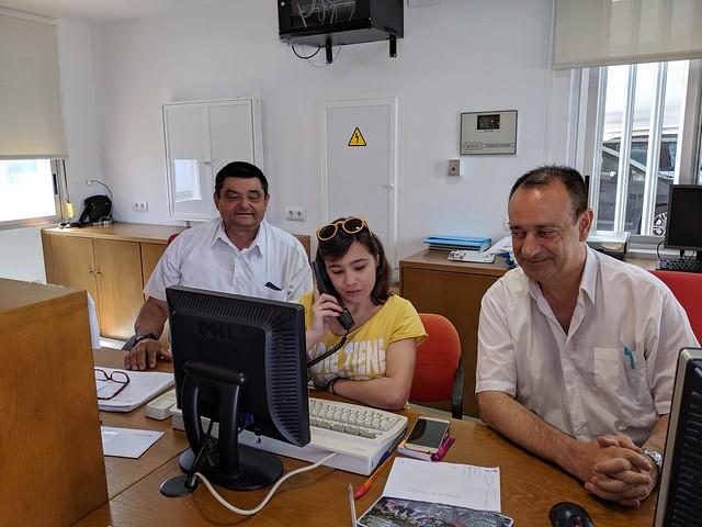 Experiencia de aprendizaje del alumnado del curso OASAG-19 y ordenanzas del CRMF-Imserso de San Fernando