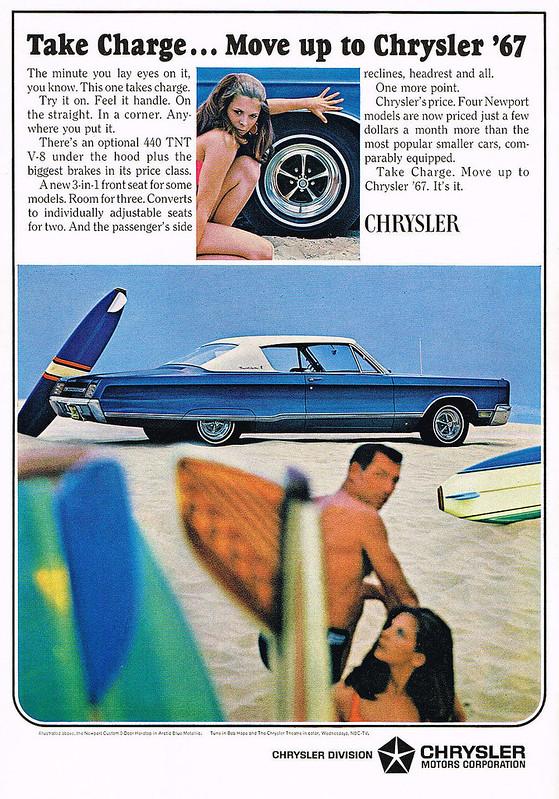 1967 Chrysler Newport Custom 2-Door Hardtop