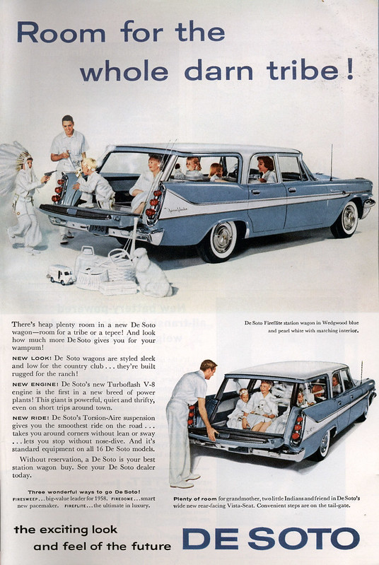 1958 De Soto Fireflite Station Wagon