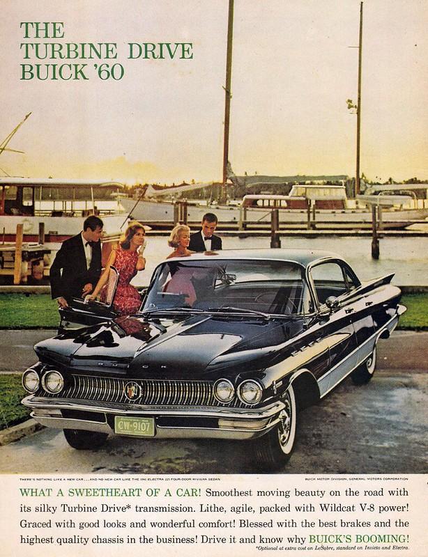 1960 Buick Electra 225 Four-Door Riviera Sedan