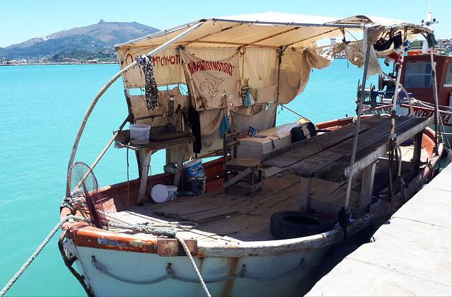 Fishing boat, Zakynthos