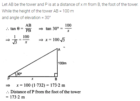 ML Aggarwal Class 10 Solutions for ICSE Maths Chapter 20 Heights and Distances Ex 20 Q6