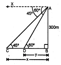 ML Aggarwal Class 10 Solutions for ICSE Maths Chapter 20 Heights and Distances Ex 20 Q24