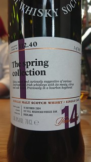 SMWS 112.40 - The spring collection