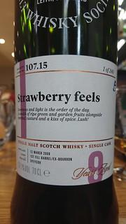 SMWS 107.15 - Strawberry feels