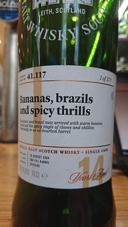 SMWS 41.117 - Bananas, brazils and spicy thrills
