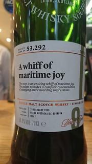 SMWS 53.292 - A whiff of maritime joy