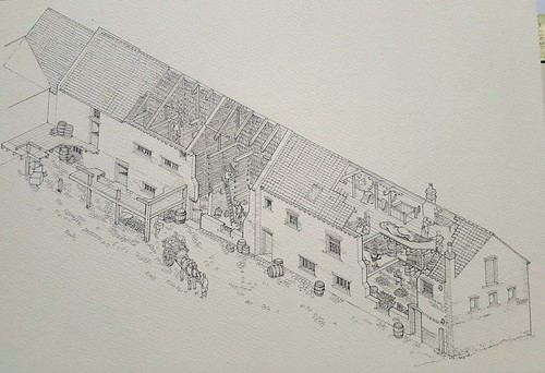 325 Whapload Road, Lowestoft (WiP 5): Completed pencil drawing