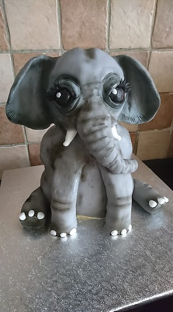 Elephant Cake by Yvonne Wing of Yvonne's Cake Creations