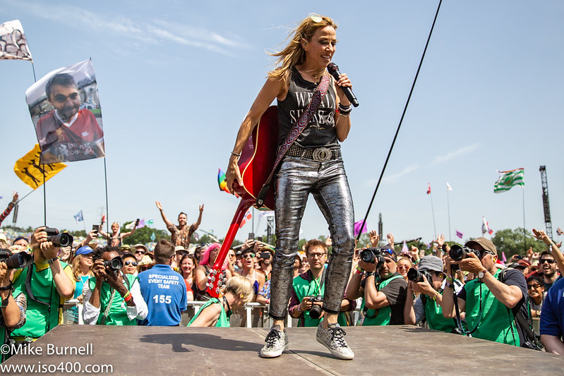 Sheryl Crow Glastonbury 2019 pic by Mike Burnell-0497