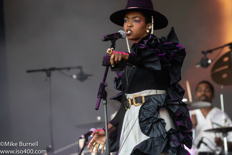 Lauryn Hill Glastonbury 2019 pic by Mike Burnell-8433