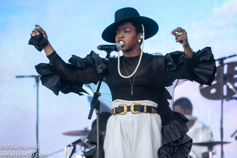 Lauryn Hill Glastonbury 2019 pic by Mike Burnell-8398