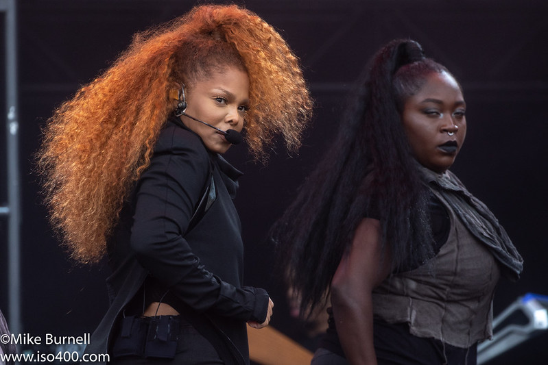Janet Jackson Glastonbury 2019 pic by Mike Burnell-8971