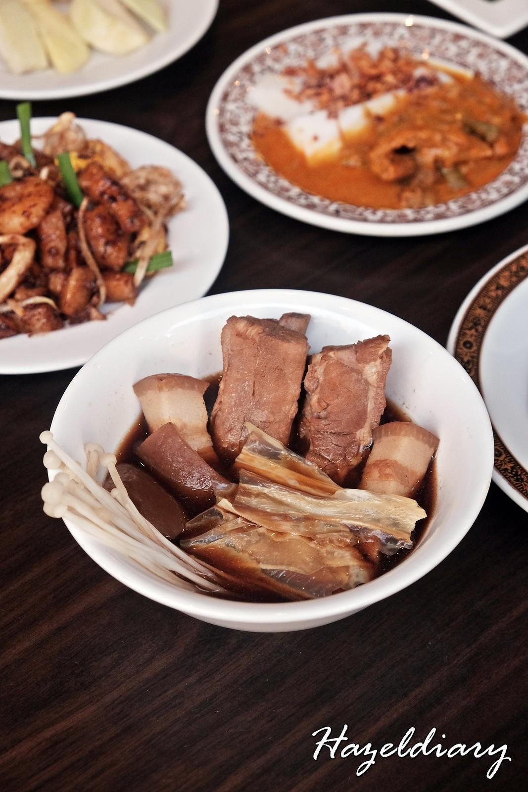 Klang Bak Kut Teh-White Rose Cafe York Hotel