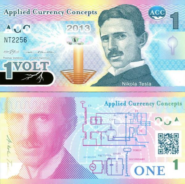1 Volt ACC Nikola Tesla 2013