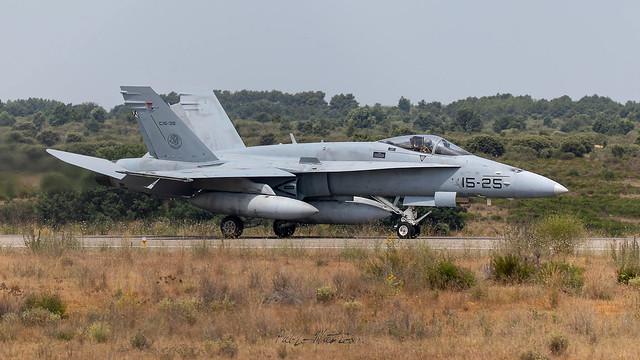 McDonnell Douglas EF-18A(M) Hormet del Ala 15