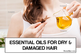 essential-oils-for-dry-and-damaged-hair