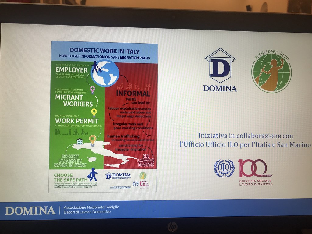 "2019-6-25 Italy: ""The Impact of Domestic Work in the Countries of Origin"""
