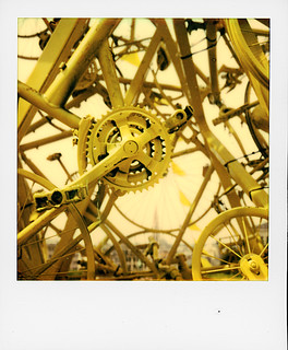 Yellow Bikes (Brussels) | by @necDOT