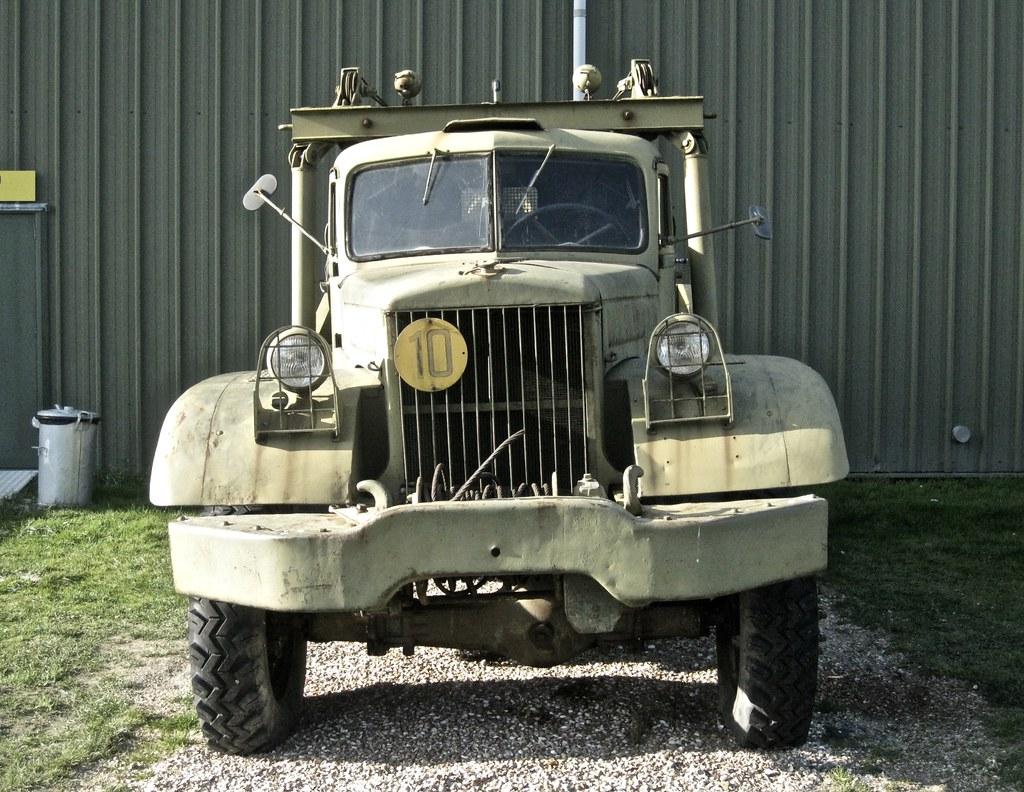 1940-1943 DIAMOND T 969 US-military Wrecker