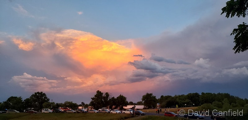 After the Independence Day storms, a beautiful scene. (David Canfield)