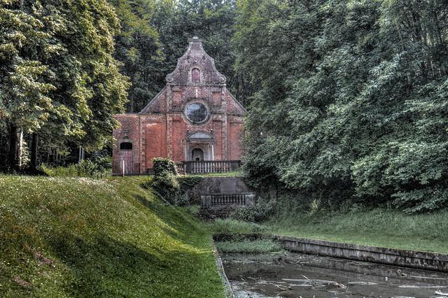 La chapelle baroque du château de Gaasbeek
