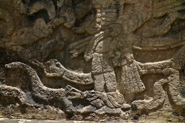 MEXICO, Yucatán, Chichén Itzá,  Maya-Kultur - Friese  und Reliefs,   19035/11695