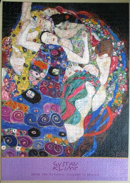 Die Jungfrau (detail)