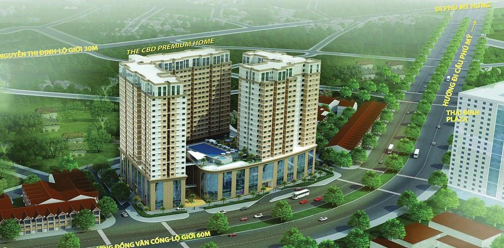 CBD Premium Home và vị trí ngay tại Trung tâm hành chính quận 2