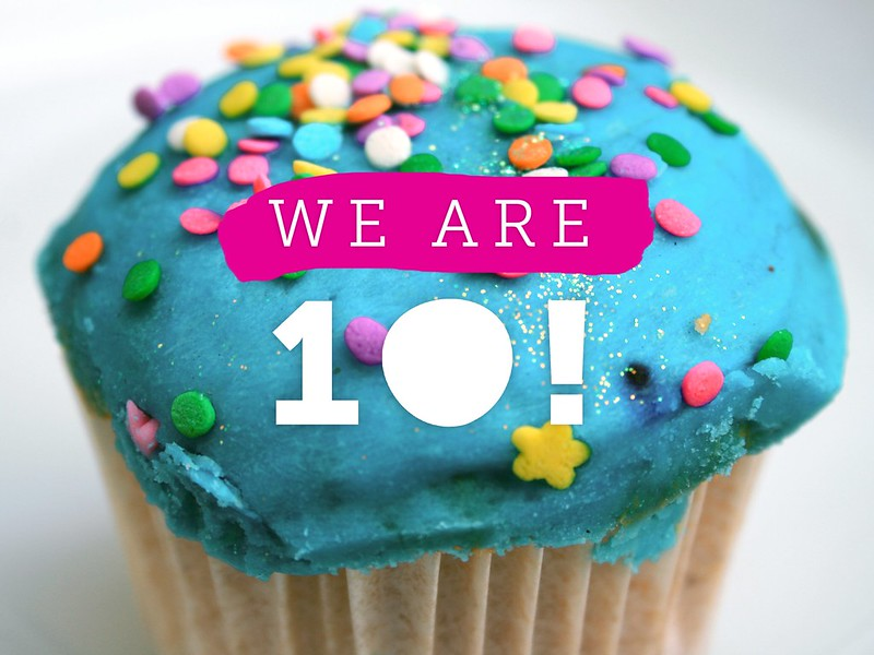 We are 10!