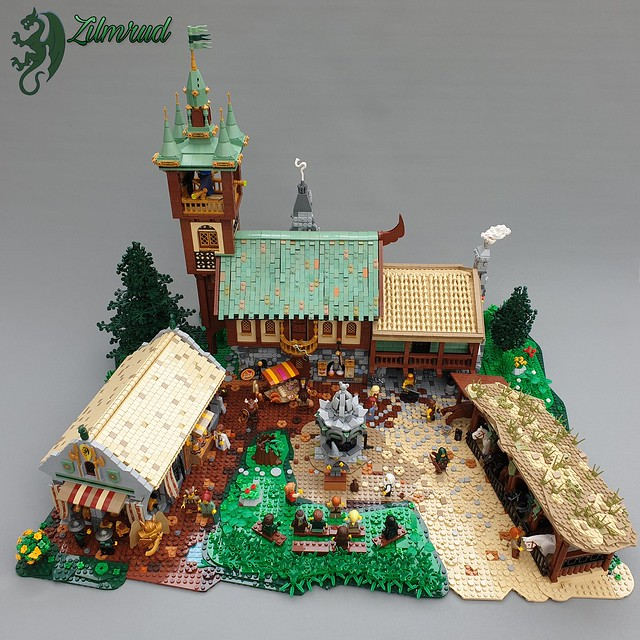 A village with a bit of everything