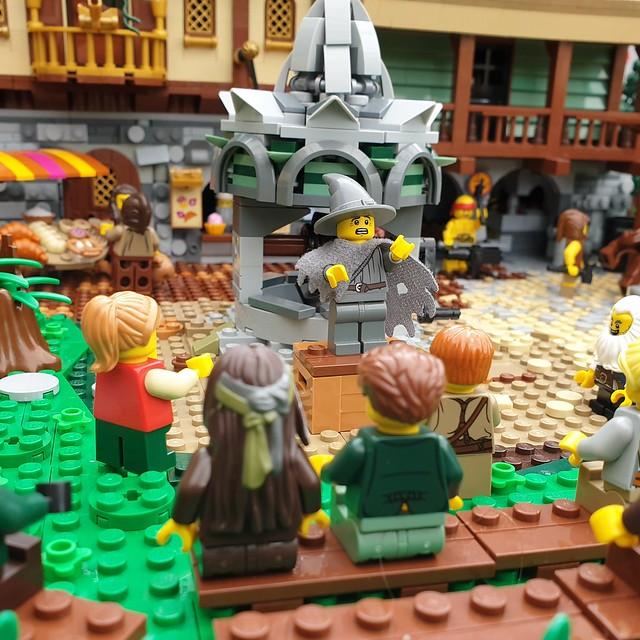 Villagers in Wyvernstone