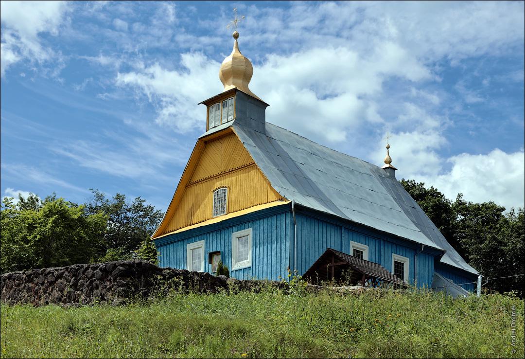 Латыголь, Беларусь, Церковь св. Николая