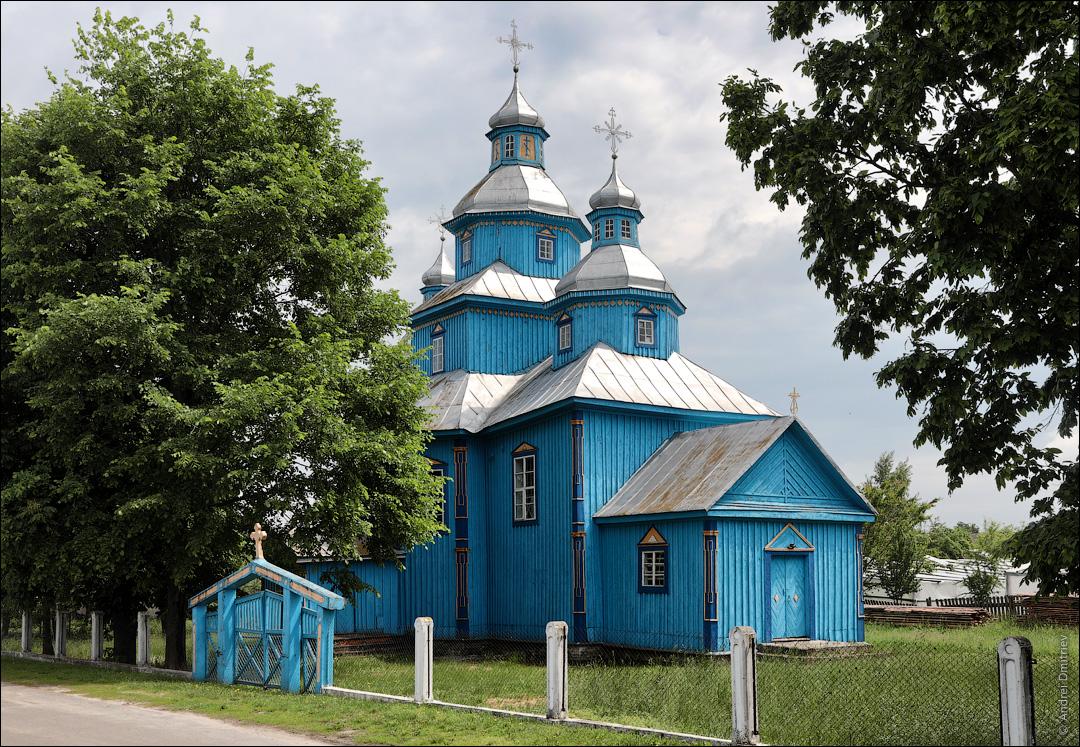 Рубель, Беларусь, Церковь св. Михаила Архангела
