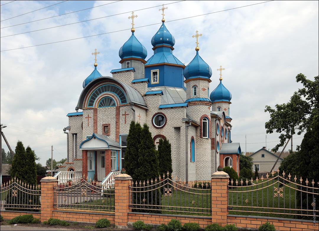 Рубель, Беларусь, Церковь Успенская