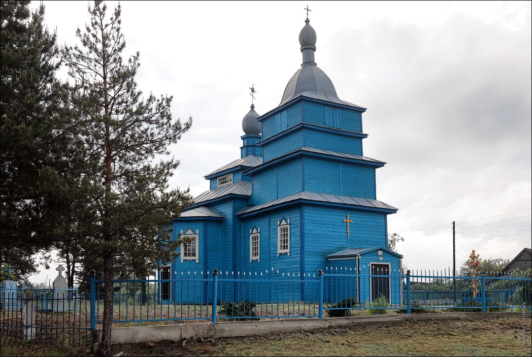 Вуйвичи, Беларусь, Церковь св. Ильи
