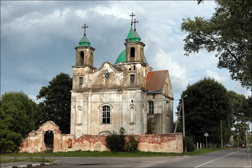 Беница, Беларусь, Костел Троицкий