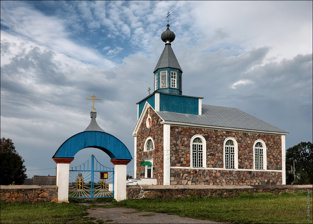 Беница, Беларусь, Церковь Покровская