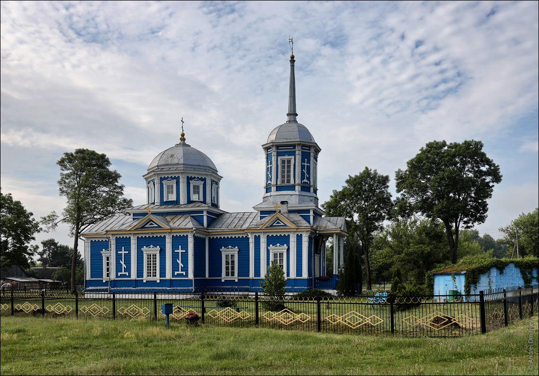 Местковичи, Беларусь, Церковь Троицкая