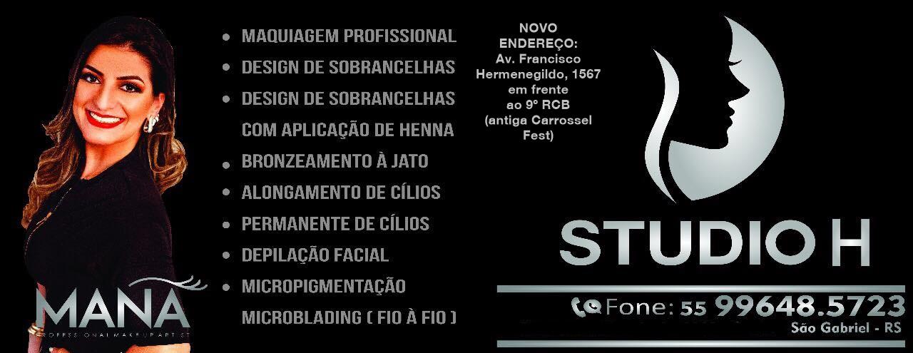 Studio H em novo endereço