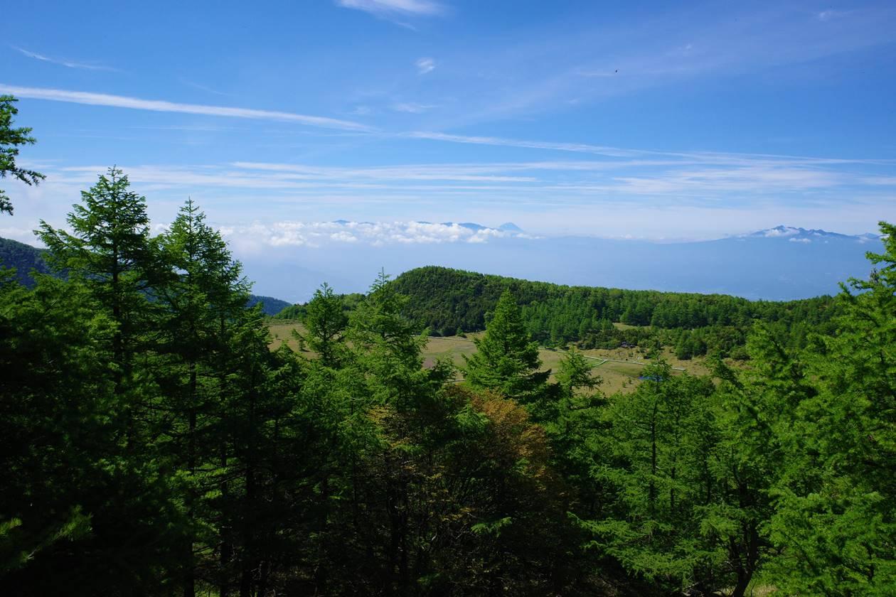 池ノ平湿原からの富士山