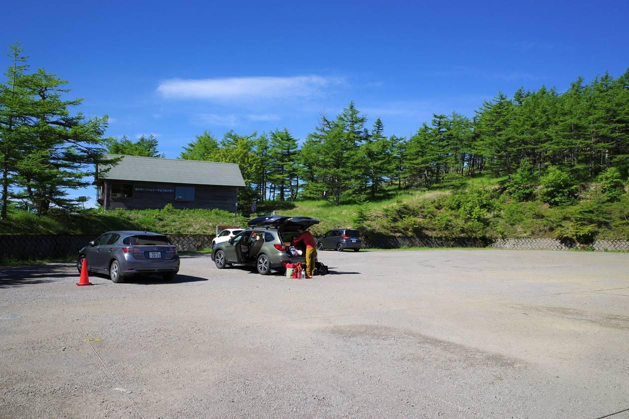 池ノ平湿原駐車場