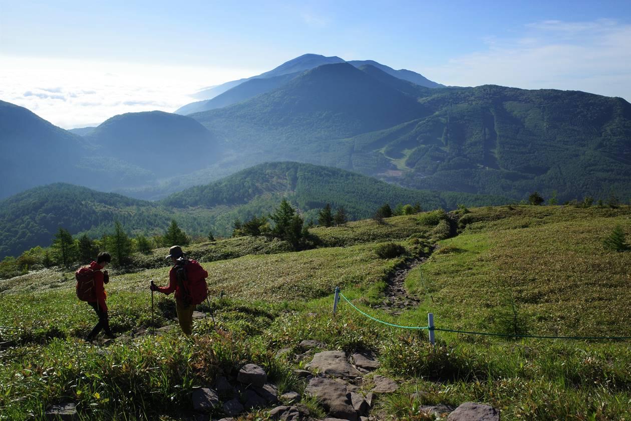 湯ノ丸山から下山