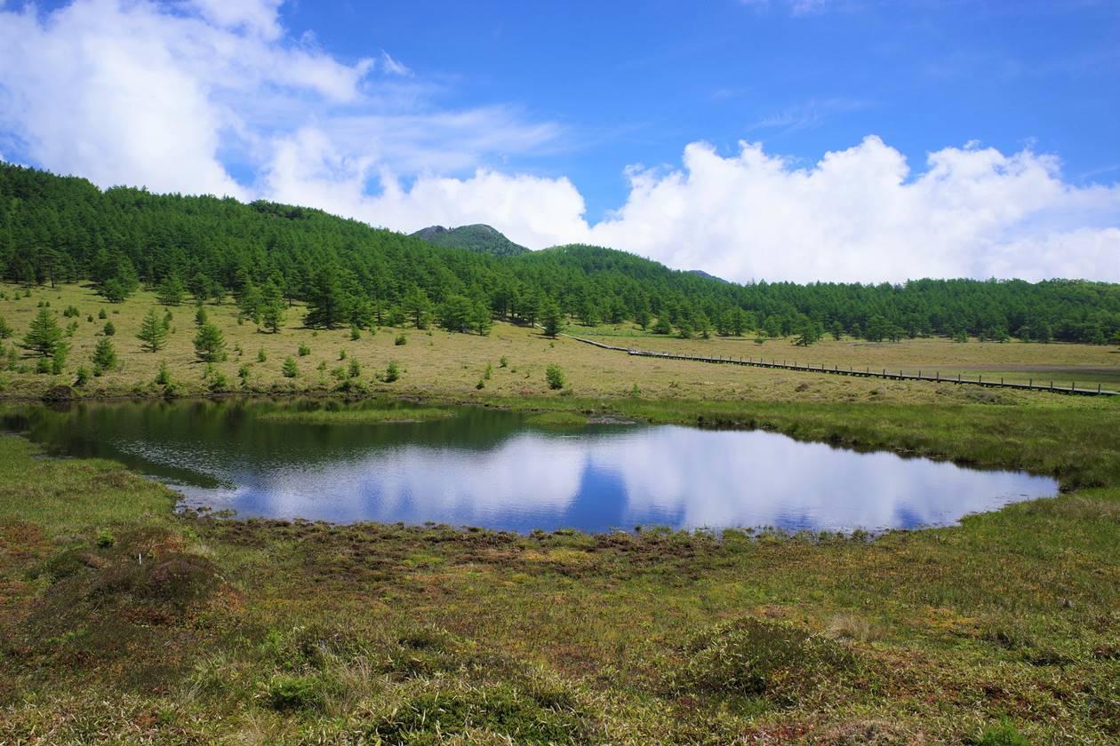 池ノ平湿原・鏡池